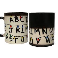 stranger things mug color changing mug stranger things cup