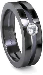 ring titanium mens titanium rings