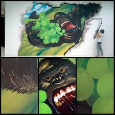 3d murals 3d murals for mines shopping center u2013 art misfits