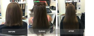 micro bead hair extensions micro bead hair extensions in melbourne frika hair boutique