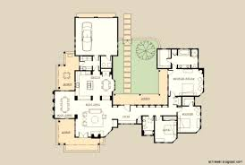 Tuscan Farmhouse Plans Spanish Style House Plans With Interior Courtyard Vdomisad Info