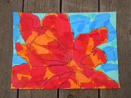art for kids inspired by georgia o u0027keefe life u0027s a craft project