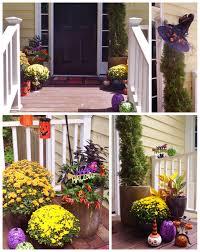backyards diy halloween front door entryway idea for your
