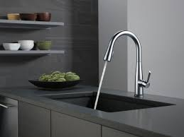 Touch Faucets For Kitchen Faucet Com 9113t Dst In Chrome By Delta