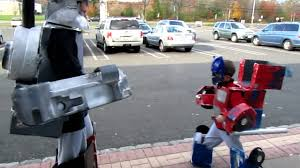 Transformer Halloween Costume Optimus Prime Megatron Transformer Halloween Costumes