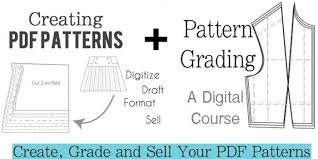 Trainee Pattern Grader | pattern grading a digital course on how to grade patterns