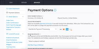 how to use paypal for payment processing and payout eventbrite