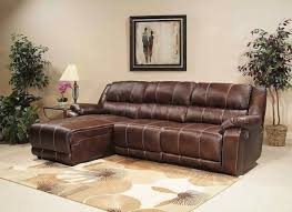 Leather Sectional Sofa Chaise Sofa Leather Reclining Sectional Sofa With Chaise Round Sofa