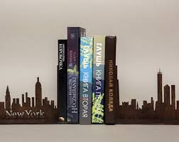 new york library bookends bookend etsy