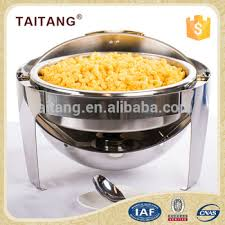 electric buffet warming tray fuel roll top chafing dish for
