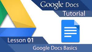 google docs tutorial 01 learn the basics youtube