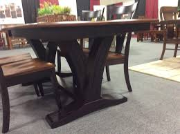 Whiskey Barrel Kitchen Table Solid Wood Paris Trestle Dining Table