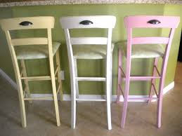 bar stools chair stools for kitchens diy painted bar stools