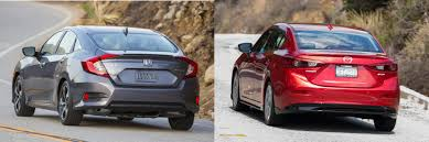 nissan civic 2016 head to head 2016 honda civic vs 2016 mazda3 autonation drive