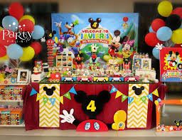 mickey mouse birthday party mickey mouse clubhouse birthday javier s 4th birthday party