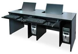 Small Pc Desks Flat Panel Lcd Widescreen Computer Desks Classroom Computer