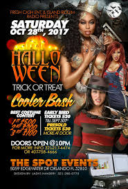 halloween trick or treat cooler bash at the spot events power