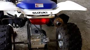 2005 suzuki z400 quadsport youtube