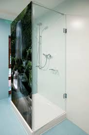 decorative glass shower doors made in glenorchy glass splashbacks table tops feature windows