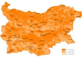 Internet Coverage Map Vivacom Mobix