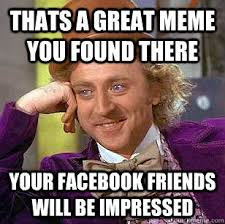 Great Meme - thats a great meme you found there your facebook friends will be