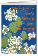 Comforting Message Before Surgery Get Well Soon From Your Knee Surgery From Greeting Card Universe