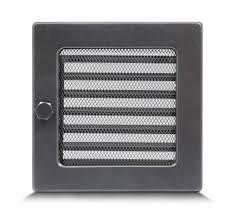 17 x 17 cm par air ventilation grate vent fireplace adjustable