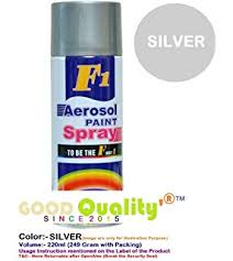 f1 aerosol spray paint silver amazon in car u0026 motorbike