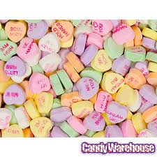 necco sweethearts sweethearts tiny conversation candy hearts classic flavors 32lb