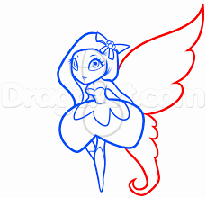 how to draw the sugarplum fairy step by step christmas stuff