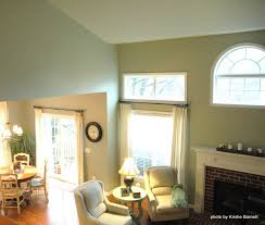 the walls and ceilings were painted sherwin williams austere gray