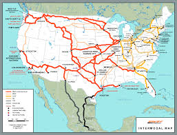 Map Of Northwest Florida by Ship With Bnsf U2013 Maps U0026 Shipping Locations Rail Network Maps Bnsf