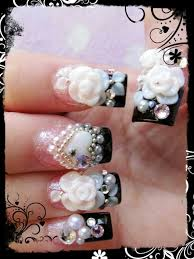 45 best 3d images on pinterest bling nails acrylic nails and