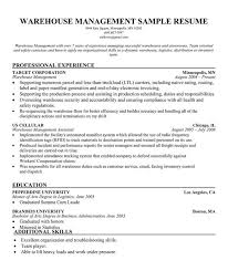 Resume Samples For Warehouse Resume Examples For Warehouse Forklift Operator Resume Sample