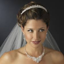 francesca swarovski bridal crown elegant bridal hair accessories
