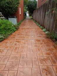 Pictures Of Stamped Concrete Walkways by Driveways Patios Walkways And Decorative Concrete