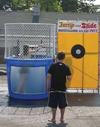 dunk tanks dunk tank jump and slide island party rentals
