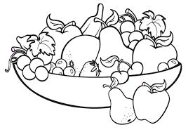 fruit black and white bowl of fruit clipart black and white logo