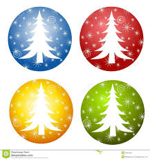 abstract christmas tree clipart collection