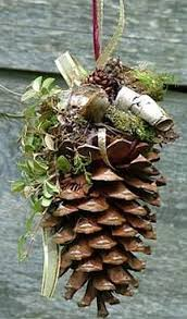 how to make pine cone ornaments for rainforest islands