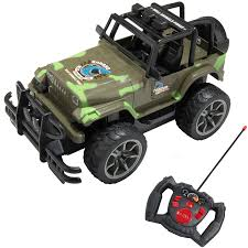 jeep wrangler military green amazon com remote controlled full function army green camouflage