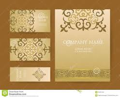 Invitations And Cards Set Of Business Cards Invitations And Cards Templates With Lac