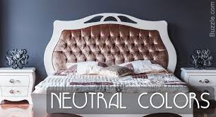 Neutral Colored Bedrooms - an array of intense and subtle bedroom wall colors take your pick