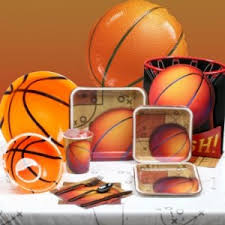basketball party supplies sports party themes themeaparty