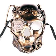 steampunk skull mask more colors 358971 trendyhalloween com