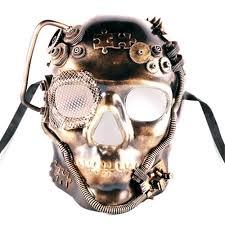 halloween skeleton mask steampunk skull mask more colors 358971 trendyhalloween com