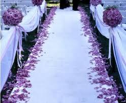 wedding runner aisle runner etiquette