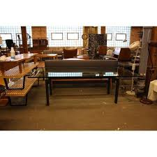 vintage glass top dining table le corbusier vintage glass top dining table glass top dining table