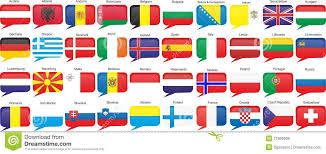 Flags Of European Countries Flags Of European Countries Stock Vector Illustration Of
