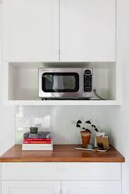 Modern White Kitchen Cabinets by Home Accessories Modern White Microwave Drawer For Modern Kitchen